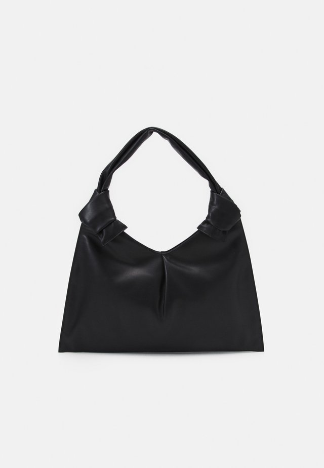 KNOT DAY BAG - Käsilaukku - black