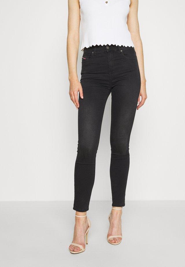 D-ROISIN-HIGH - Jeans Skinny - washed black