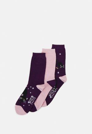 HALLOWEEN CAT SOCKS 3 PACK - Socks - multi