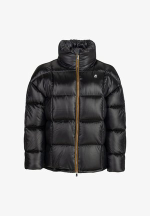 SILAS THERMO HEAVY - Down jacket - blue maritime-black pure