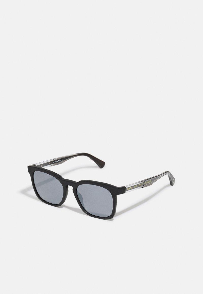 Diesel - Sunglasses - matte black/smoke