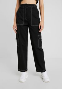 The Ragged Priest - DOUBT PANT - Cargo trousers - black - 0