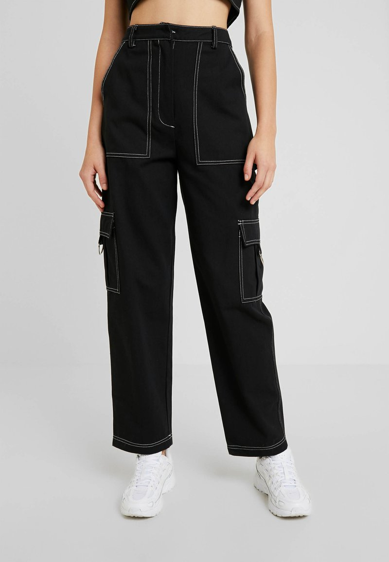 The Ragged Priest - DOUBT PANT - Cargo trousers - black
