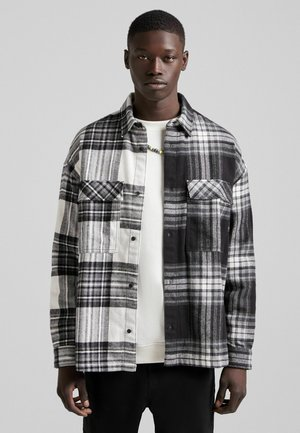 OVERSIZED - Skjorta - dark grey