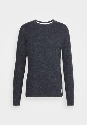Long sleeved top - dark blue melange