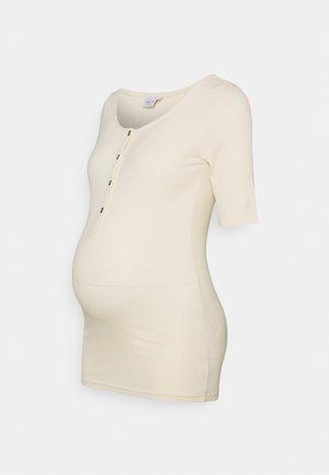 NURSING MLELLEN LIA  - Print T-shirt - ecru