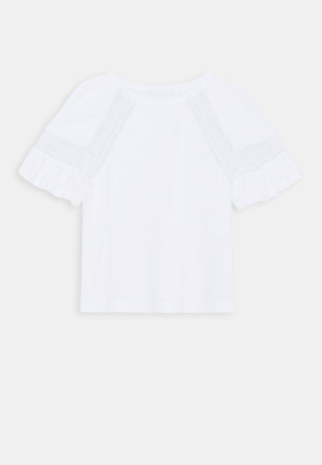 UPPER BODY GARMENT - Blouse - white