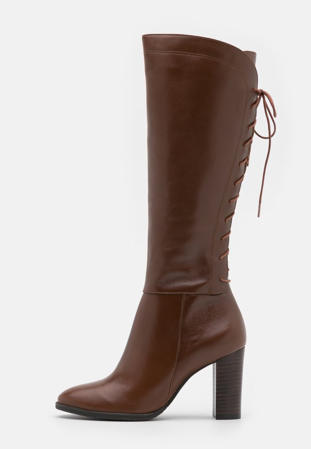 EGO - Lace-up boots - cognac