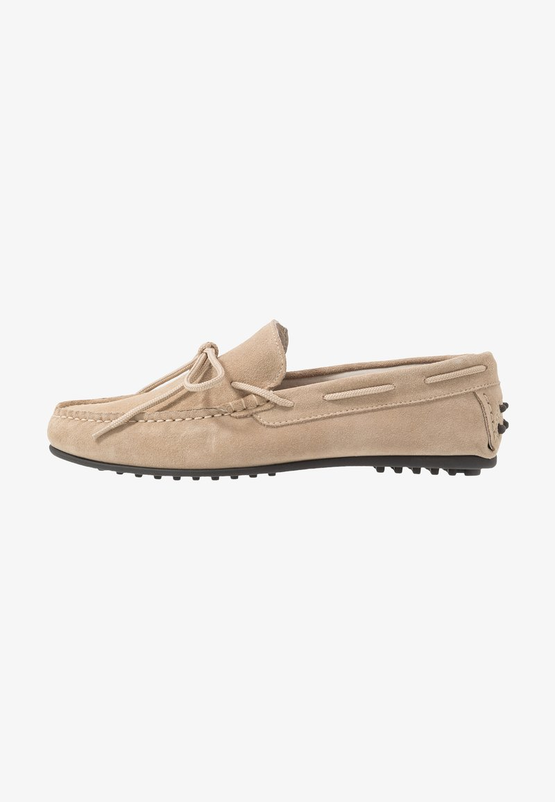 Selected Homme - SLHSERGIO DRIVE SHOE - Moccasins - crockery