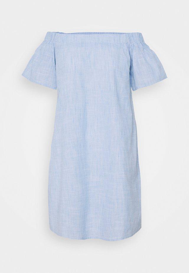 BARDOT MINI DRESS - Sukienka letnia - blue