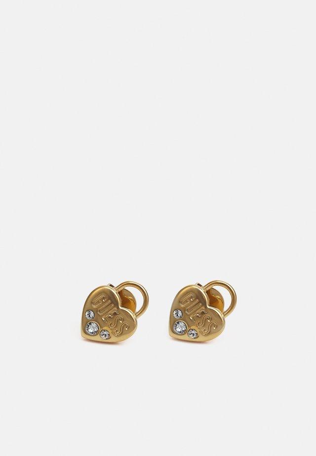 LOCK ME UP - Boucles d'oreilles - gold-coloured