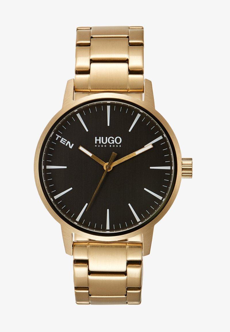 HUGO - STAND - Orologio - gold-coloured