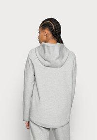 Nike Sportswear - Bluza rozpinana - grey heather/white - 2