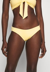 Seafolly - SPLASH DOT HIPSTER - Bikini bottoms - lemon butter - 0
