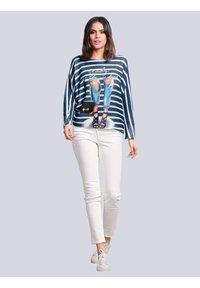 Alba Moda - Jumper - blau,off-white - 1