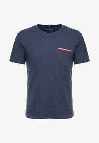 Pier One - Basic T-shirt - mottled dark blue - 3