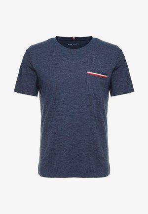 T-shirt - bas - mottled dark blue