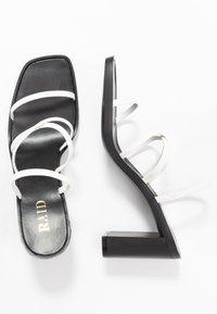RAID - DONNA - Sandalen met hoge hak - white - 3