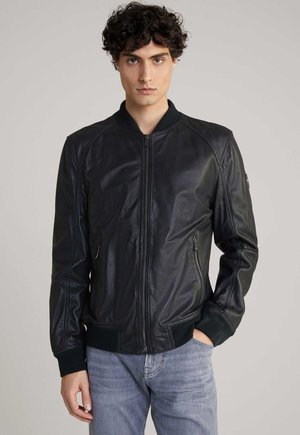 ESCOR - Leather jacket - schwarz