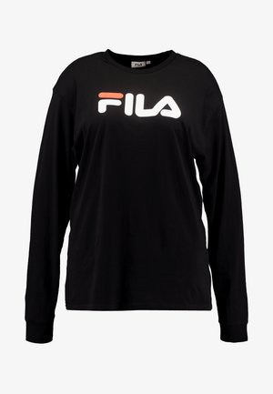 PURE LONG SLEEVE - Collegepaita - black