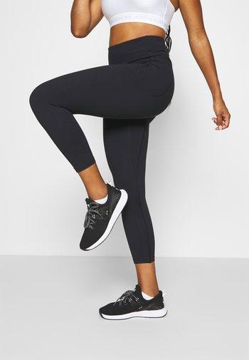 MERIDIAN CROP - Leggings - black