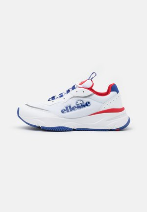 MASSELLO - Joggesko - white/blue/red