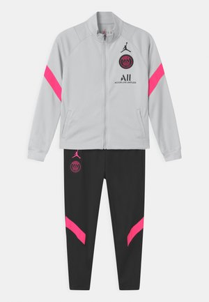 PARIS ST GERMAIN SET UNISEX - Club wear - pure platinum/black/hyper pink