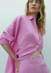 Massimo Dutti - MIT  - Shorts - neon pink - 2