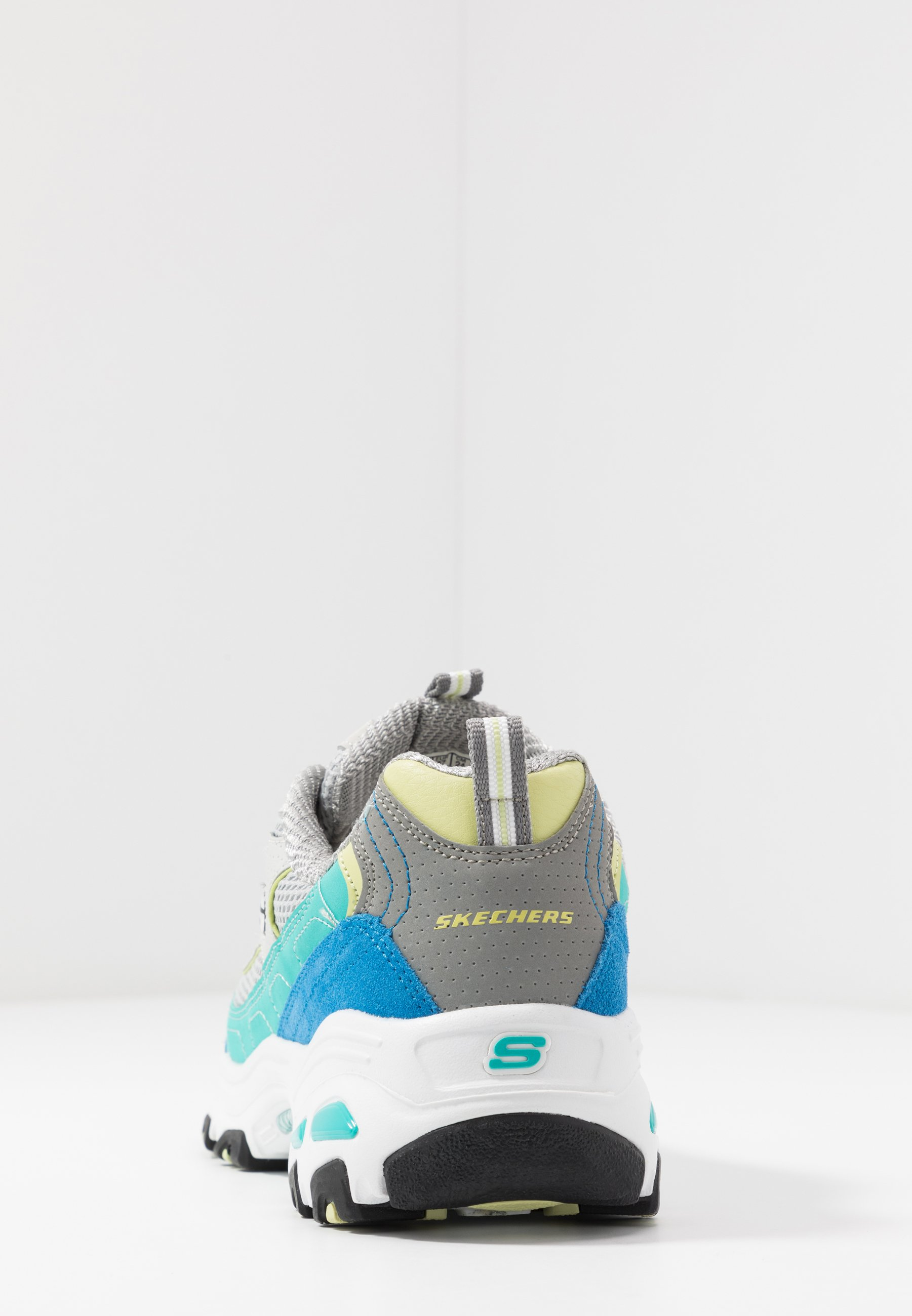 Skechers Sport D'LITES Joggesko grayturquoiseblue