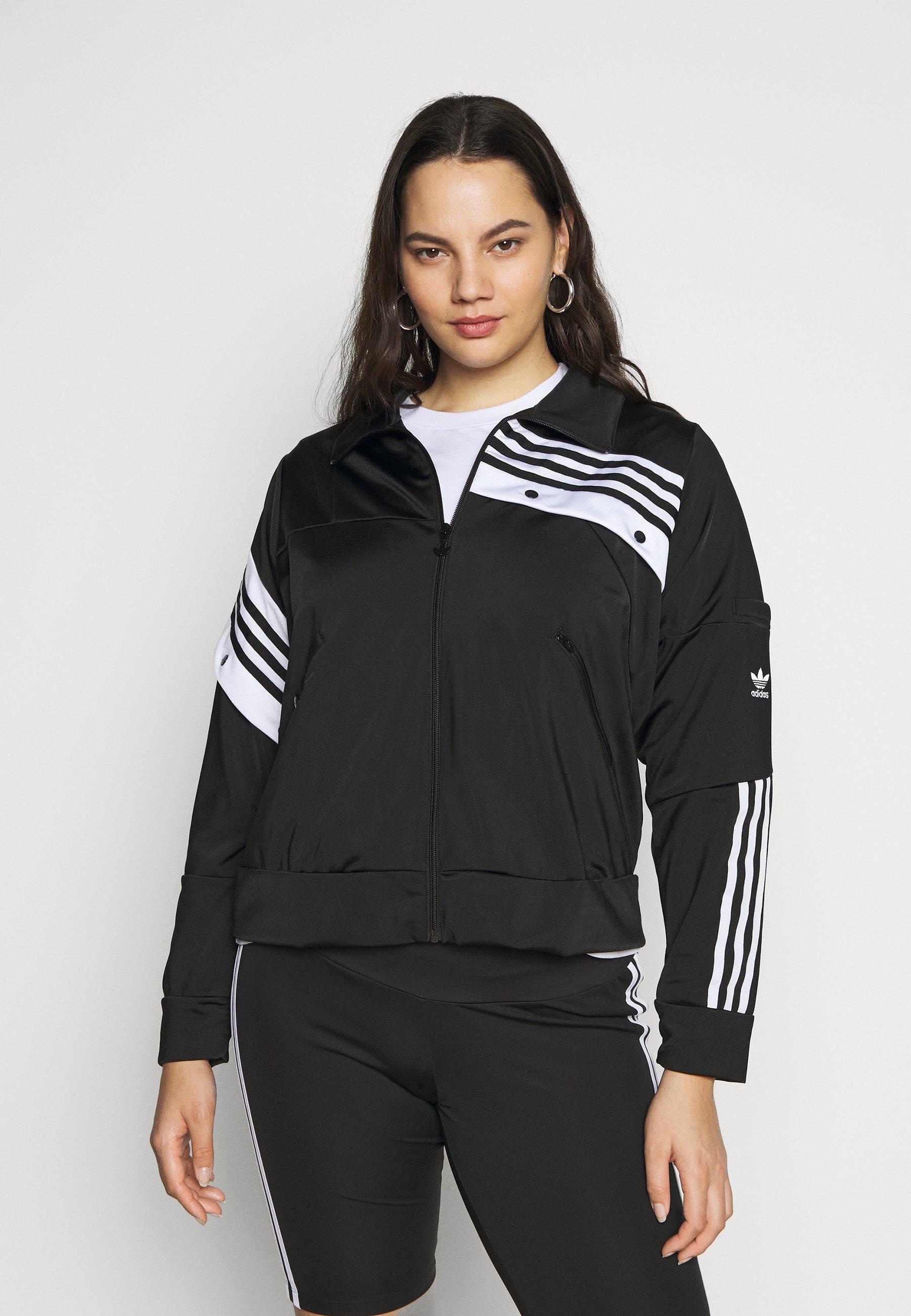adidas Originals TREFOIL Lett jakke black Zalando.no