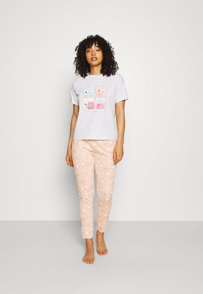 Women Secret - BED - Pyjamas - light grey melange