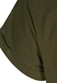 Zizzi - Basic T-shirt - green - 6