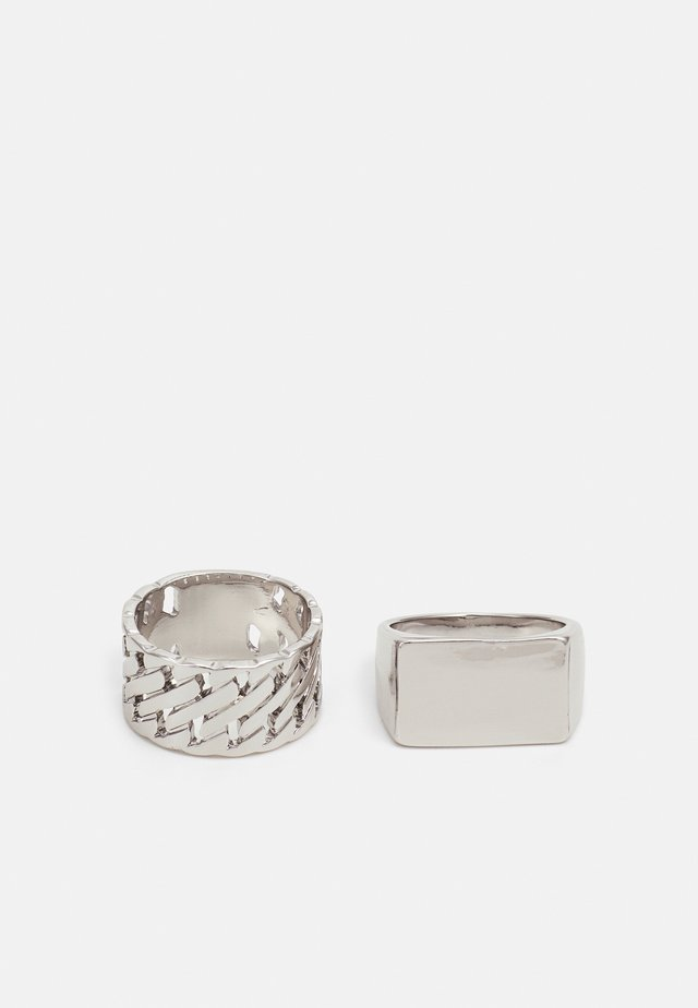 TIGHT LINK 2 PACK - Ring - silver-coloured