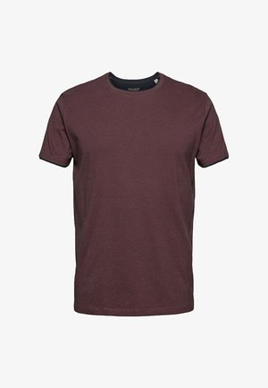 LAYER - Basic T-shirt - berry red
