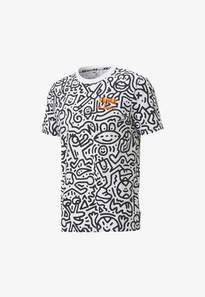 T-Shirt print -  white-aop