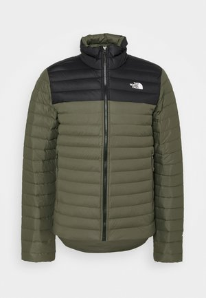 STRETCH JACKET - Daunenjacke - green/black