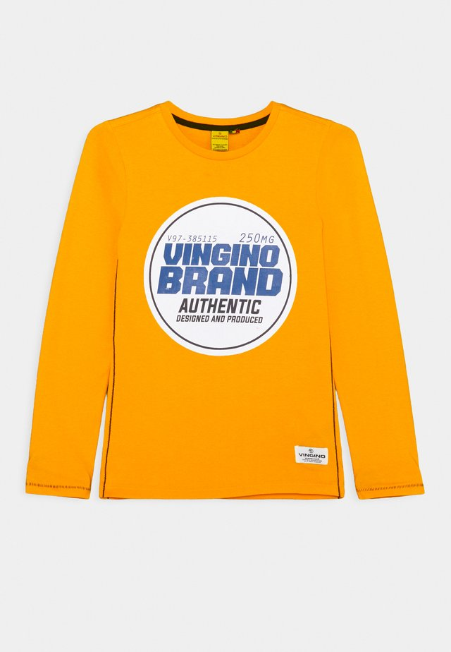 HURUNO - Long sleeved top - gold yellow