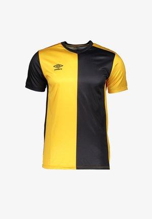 FUSSBALL - TEAMSPORT TEXTIL - TRIKOTS 50/50 TRIKOT KURZARM - Print T-shirt - gelbschwarz