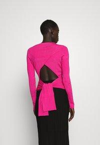 HUGO - SWILLERY - Jumper - bright pink - 2