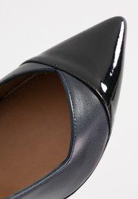 Pura Lopez - High heels - navy blue/nero - 2