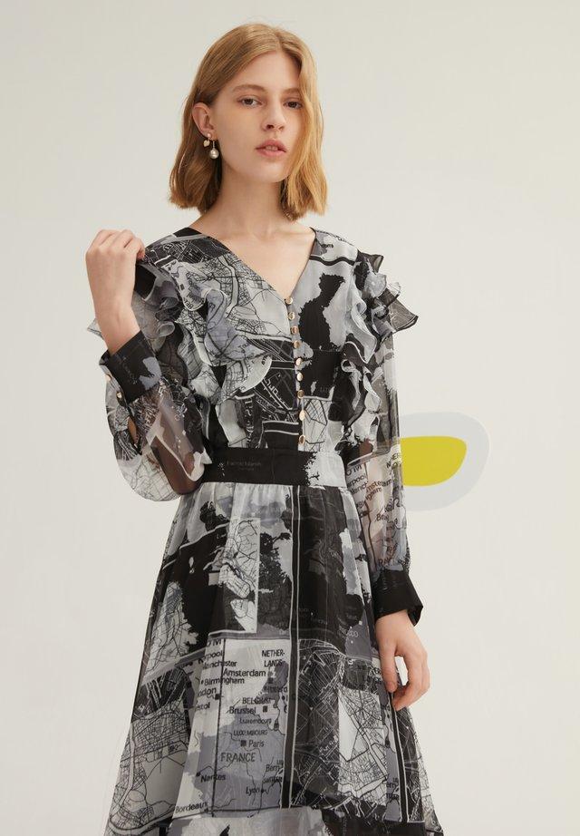 Day dress - dark gray