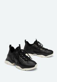Uterqüe - Sneakers laag - black - 1