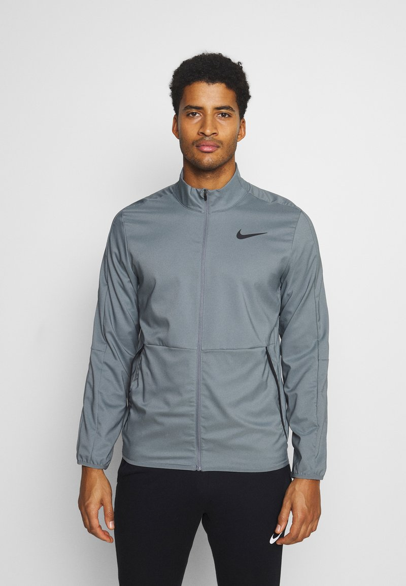 Nike Performance - DRY TEAM - Training jacket - smoke grey