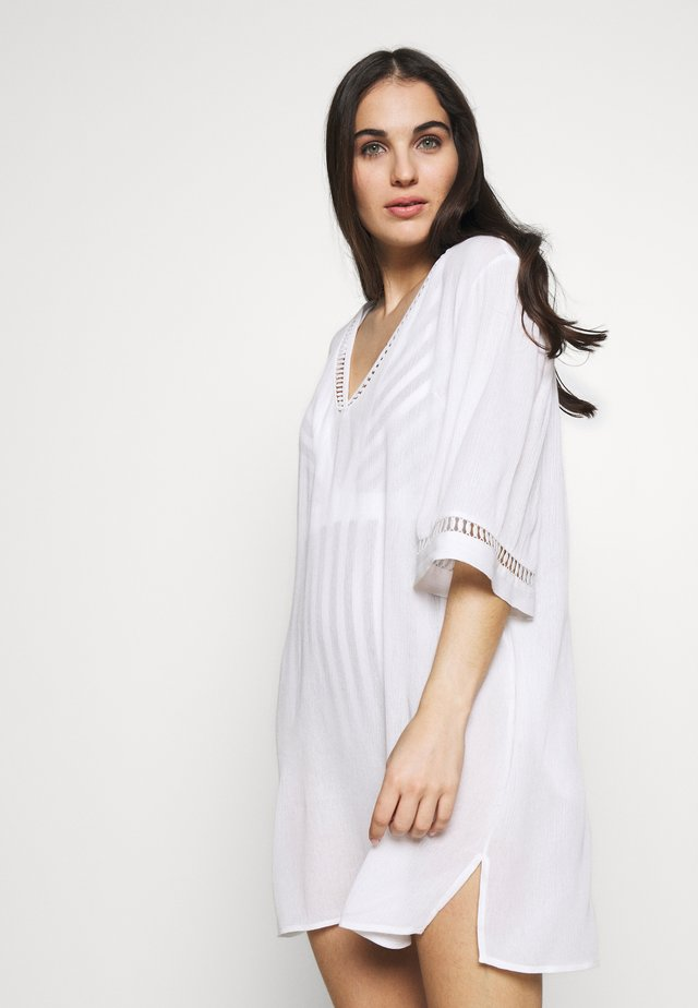 KAFTAN - Beach accessory - white