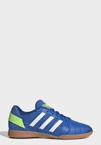 adidas Performance - TOP SALA UNISEX - Indoor football boots - globlue/white/royalblue - 1