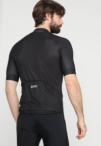 POC - ESSENTIAL ROAD LOGO  - T-shirts print - uranium black - 2