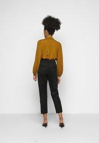 ONLY Petite - ONLPOPTRASH EASY PANT - Trousers - black - 2