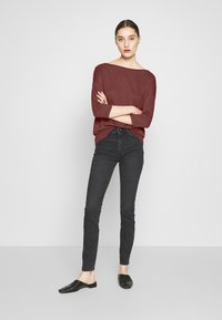 Sisley - Long sleeved top - bordeaux - 1