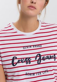Cross Jeans - Print T-shirt - white - 3