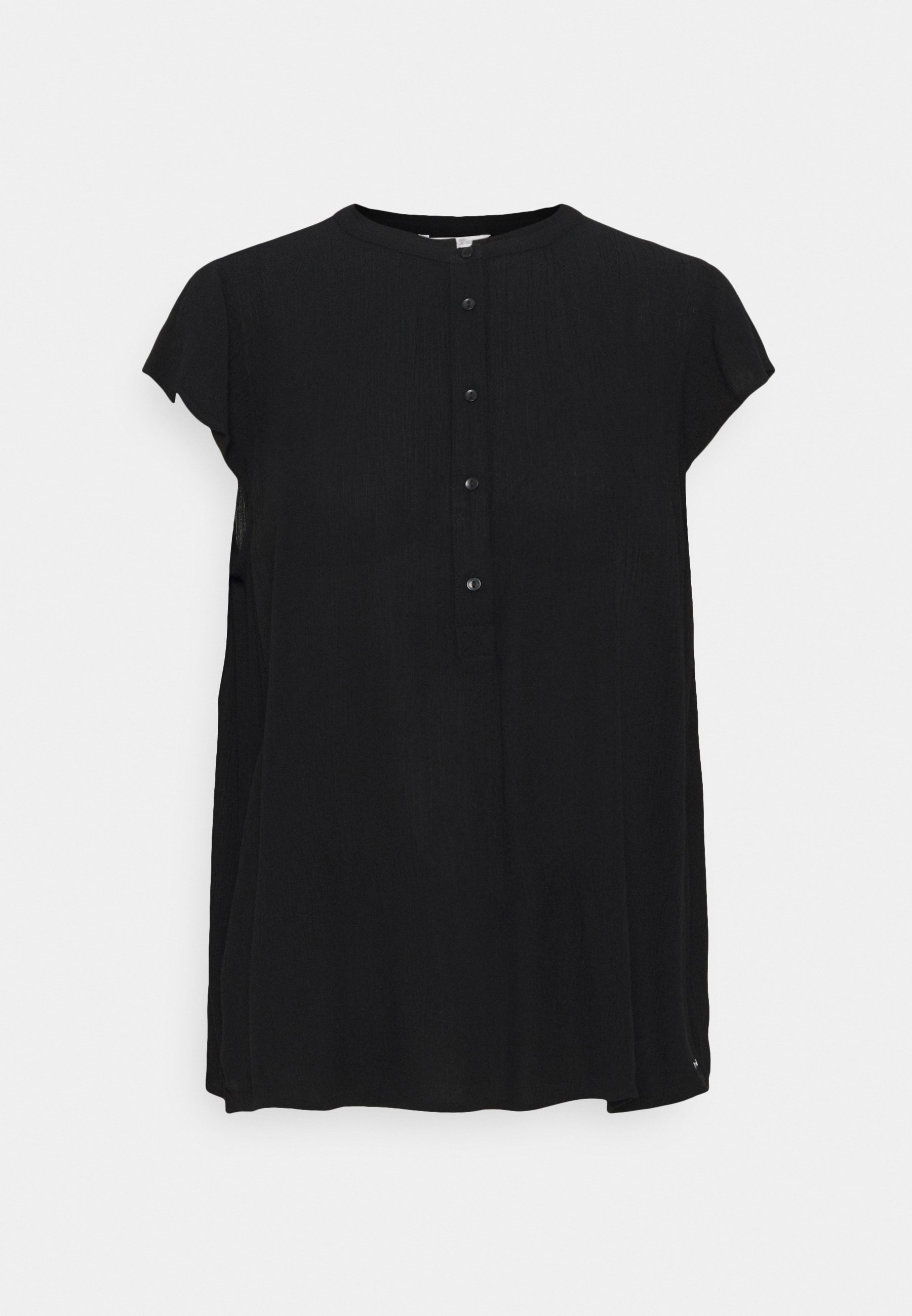 Women EASY TUNIC WITH NECK DETAIL - Tunic